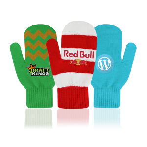 Custom PMS color Mittens with your company logo