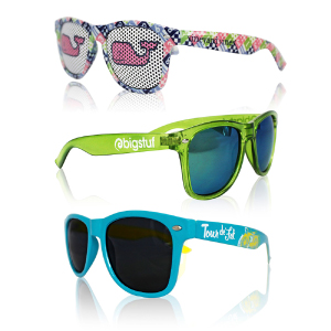 Custom PMS color Sunglasses with your company logo