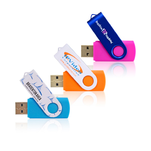 Custom PMS color USB Flash Drives with your company logo