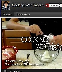 Catch the latest episode of Cooking iwth Tristan as he cooks his favorite recipes for you