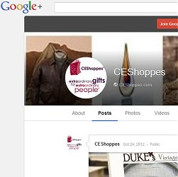 Join Our Google + Circle - Ask us about anything related to corporate gifts and promotional products