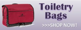 Custom Toiletry Bags and Cosmetic Kits - Travel Bags