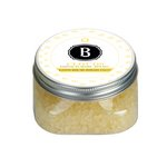 Cloud 9 Bath Salts Clear Square Jar