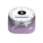 Tranquility Bath Salts Clear Square Jar