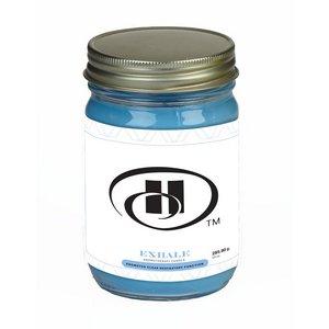 Exhale Essential Oil Infused Soy Wax Candle 12 oz Mason Jar