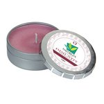 Immunity Candle Small Push Tin Silver