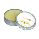 Cloud 9 Candle Large Push Tin Silver