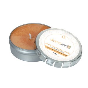 Invigorate Candle Large Push Tin Silver