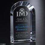 Ramsey Optical Crystal Arch Award 10in