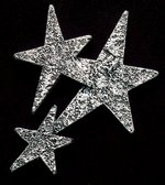 Star Cluster Pewter Accent Addition to an Award