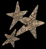 Star Cluster Bronze Accent Addition to an Award